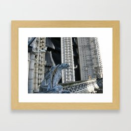 Those days in Paris (1) Framed Art Print