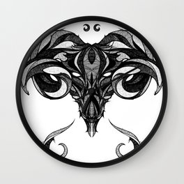 Signs of the Zodiac - Aries Wall Clock