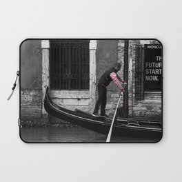 The Future Starts Now Laptop Sleeve