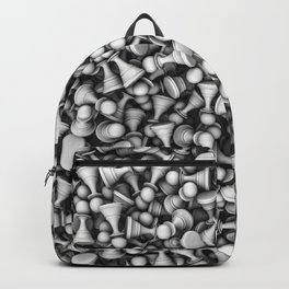 White pawns Backpack