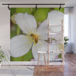 Spreading the pollen. Wall Mural