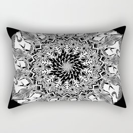 Wishful (Black) Rectangular Pillow