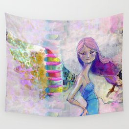Perfect Little by Jane Davenport Wall Tapestry