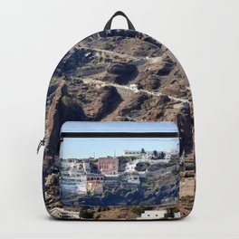 Climb Up Santorini Backpack