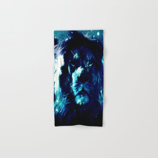 Galaxy Lion  Hand & Bath Towel