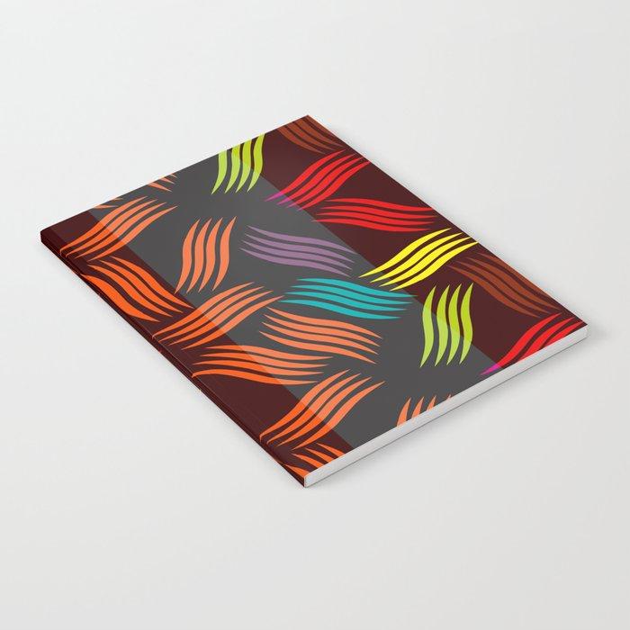 Pattern Vivid Notebook