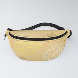 Autumn, Leaves Pattern 3 Fanny Pack