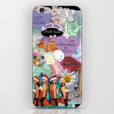 Miscellaneous - Abstract, Tumblr, Transparent, Stickers iPhone & iPod Skin