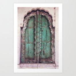 Doors Of Rajasthan Art Print