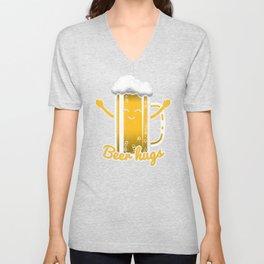 Beer Hugs Unisex V-Neck