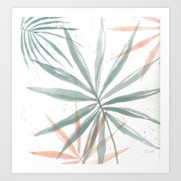 Palm Party IV Art Print