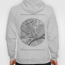 Detroit Map Universe Hoody