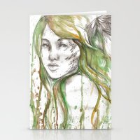 fairies Stationery Cards featuring Fairies by Alex Schol