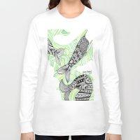 mermaids Long Sleeve T-shirts featuring mermaids 4 by winnie patterson
