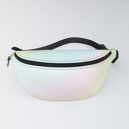 Pale Pastel Abstract Design Fanny Pack