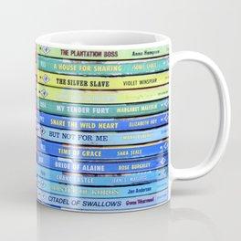 Rainbow Vintage Harlequin Books Coffee Mug