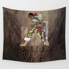 The Fourth Wall Wall Tapestry