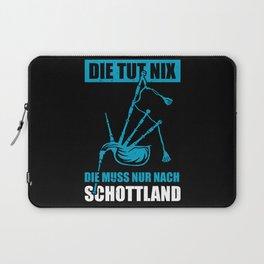 Scotland Bagpipe Scottish Laptop Sleeve