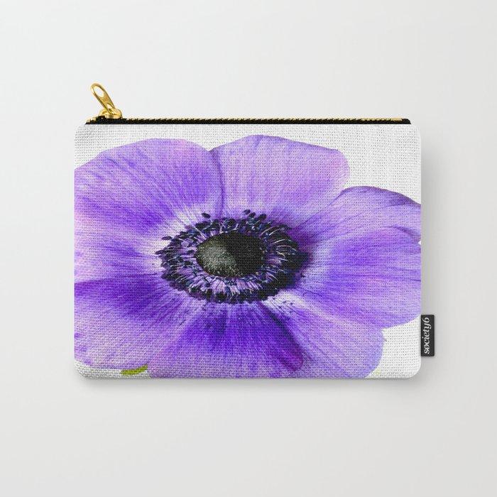 Pretty Purple Flower #decor #buyart #society6 Carry-All Pouch