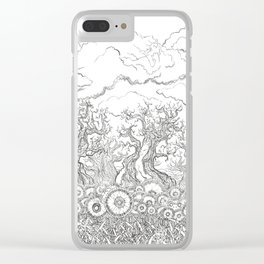 Hidden Things Clear iPhone Case