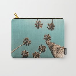 {1 of 2} Palm Trees = Happy // Teal Summer Sky Carry-All Pouch