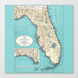 Florida Canvas Print