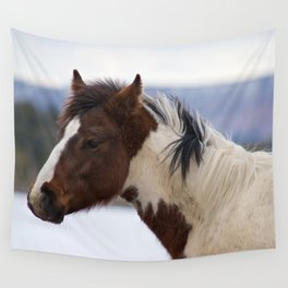 Tri-Colored Horse Wall Tapestry