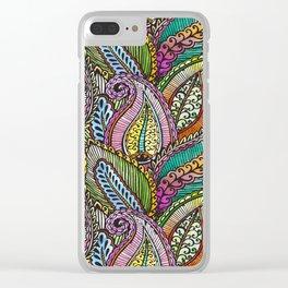 Seamless Art - 16 Clear iPhone Case