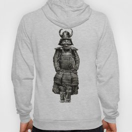 Japanese Armor Pencil Draw Hoody