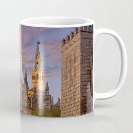 Seville, The Cathedral at dusk Coffee Mug