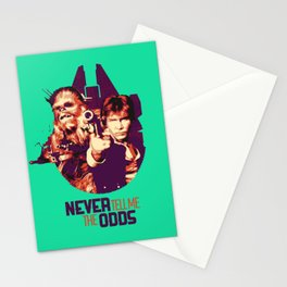 Han Solo & Chewbacca Stationery Cards