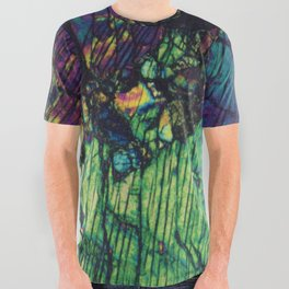 Pyroxene Crystals All Over Graphic Tee