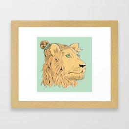 Golden Bun Framed Art Print