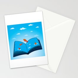 Sea of wisdom Stationery Cards