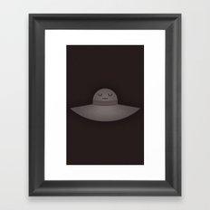Sad Hat Framed Art Print