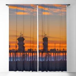 Colors at Huntington Beach Blackout Curtain