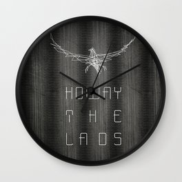 Howay the lads Wall Clock