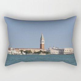 Venice Skyline From Ostello Generator Rectangular Pillow
