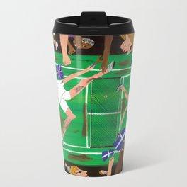 'Match Point' Metal Travel Mug