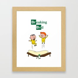 Breaking Bad (Breaking Bad Parody) Framed Art Print