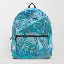 Ethnic Tribal Pattern Art N7 Backpack