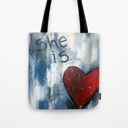 She is Love Tote Bag