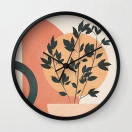 Geometric Modern Art 44 Wall Clock