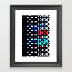 Shifted Framed Art Print