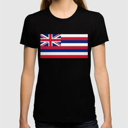 State flag of Hawaii, Authentic color & scale T-shirt