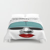 celebrity Duvet Covers featuring Celebrity by jt7art&design
