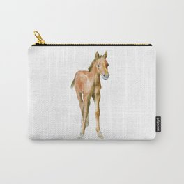 Watercolor Horse Painting Carry-All Pouch