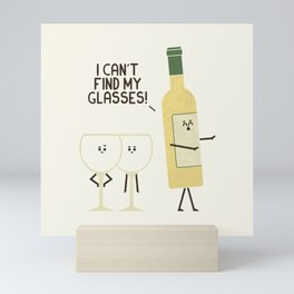Lost Glasses Mini Art Print