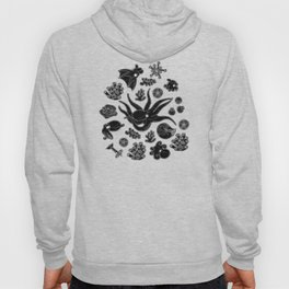 Cephalopods - Black and White Hoody
