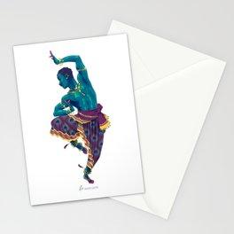 Bharatanatyam Dancer Stationery Cards